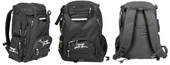 AO Transit Back Pack-Black/White www.krypticproscooters.com