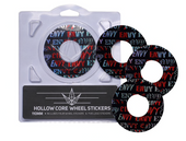 Envy Wheel Sticker Pack 110mm-Font Envy www.krypticproscooters.com