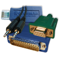 Loopback Set (LPT, COM, Audio, RJ45)