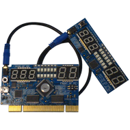 PCI POST Card w/ Remote Display