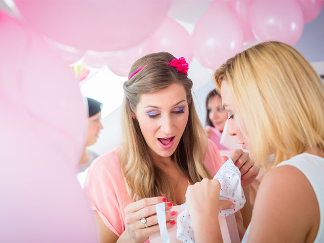 Pink baby shower theme ideas