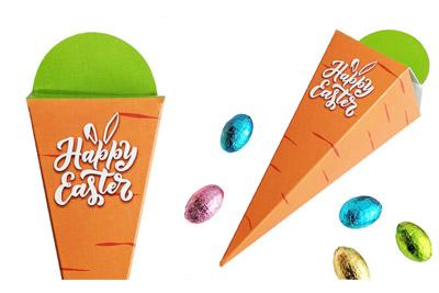 Carrot Box Easter Egg Gifts