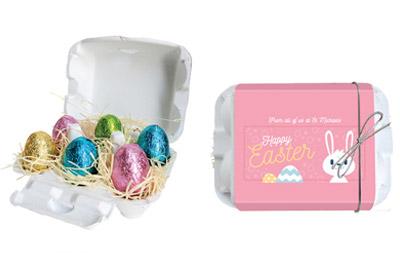 Easter Egg Carton Present