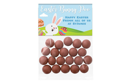 Bunny Poo Easter Bags