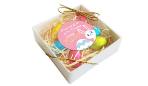 Perspective - Funny Bunny Personalised Easter Egg Nest Box