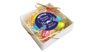 Perspective - Full of Flowers  Personalised Easter Egg Nest Box