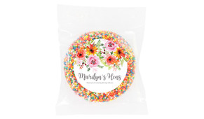 Beautiful Florals Hens Night Chocolate Freckle