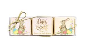 Beautiful Bunny Custom Mini Chocolate Trio