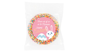 Funny Bunny Personalised Easter Giant Chocolate Freckles