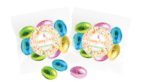 Cute And Colourful Personalised Bag Of Easter Eggs