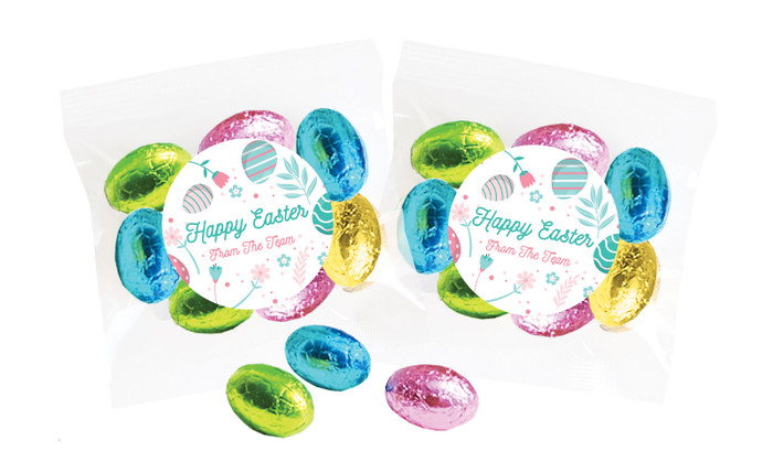 Easter Elements Personalised Bag Of Easter Eggs