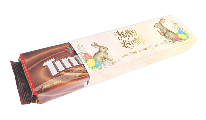 Beautiful Bunny Personalised Packet Of TimTams TM