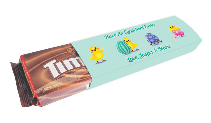 Chickens Hatching Personalised Packet Of TimTams TM