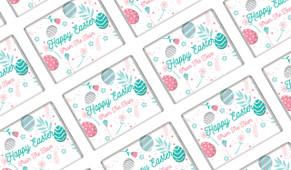 Easter Elements Personalised Mini Chocolates