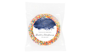 Watercolour Confetti Personalised Christening Giant Freckle