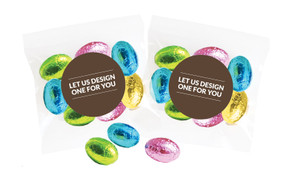 Let Us Design For You Personalised Bag Of Easter Eggs