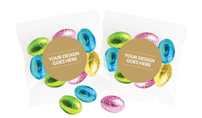 Use Your Own Design Personalised Bag Of Easter Eggs