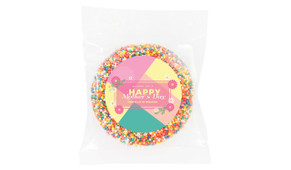 Bold Colours Mother's Day Personalised Chocolate Freckle