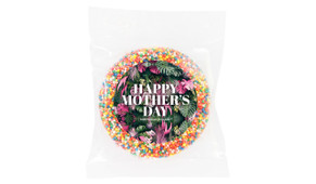 Tropical Mother's Day Personalised Chocolate Freckle
