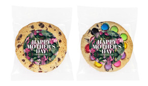 Tropical Mother's Day Personalised Day Giant Cookie