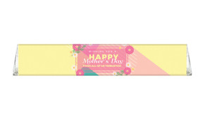 Bold Colours Personalised Toblerone Mother's Day Chocolates