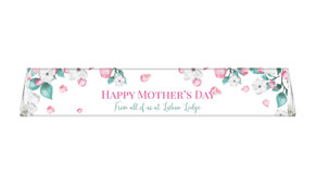 Falling Petals Personalised Toblerone Mother's Day Chocolates
