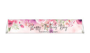 Floral Watercolour Custom Toblerone Mother's Day Chocolates