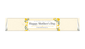 Golden Florals Custom Toblerone Mother's Day Chocolates