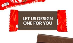 Let Us Design For You Kit Kat 2-Finger Custom Sleeve