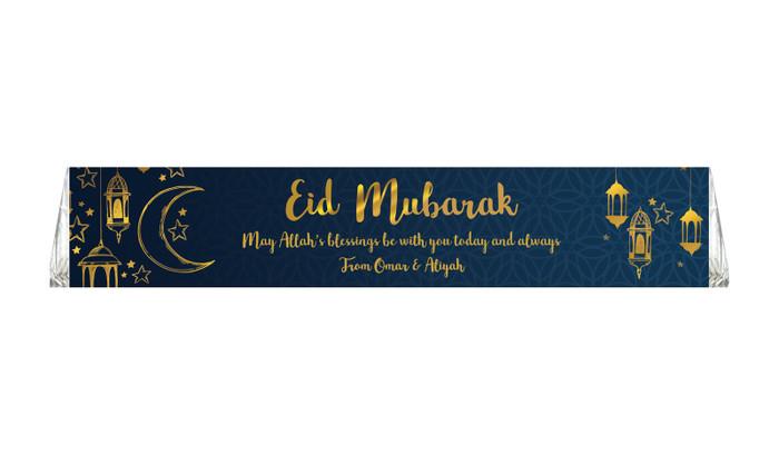 Gold On Navy Toblerone Eid Mubarak Chocolates