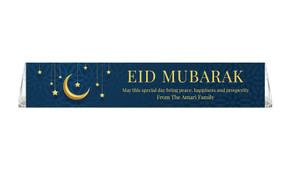 Moon on Navy Toblerone Eid Mubarak Chocolates