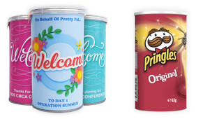Pringles Chips TM 53g Tube With Personalised Sleeve