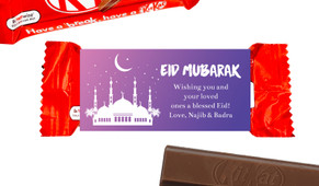 Etchings Eid Mubarak Custom 2-Finger Kit Kat