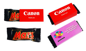 Mini Mars Bar TM 18g With Personalised Sleeve (Pack Of 12)