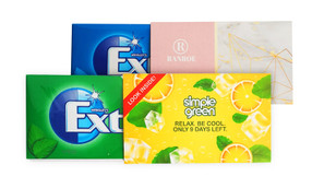 Extra Chewing Gum With Personalised Sleeve