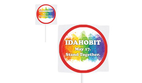 IDAHOBIT Custom 2.5cm Mini Lollipops