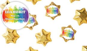 IDAHOBIT Personalised Chocolate Stars