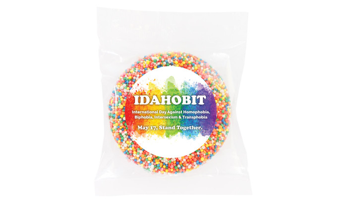 IDAHOBIT Custom Giant Chocolate Freckle