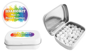 IDAHOBIT Customised Mint Tin With Mints Included