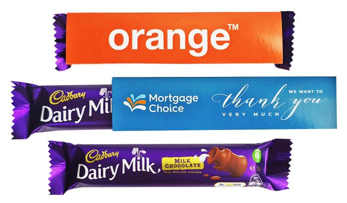 Personalised Cadbury TM 50g Milk Chocolate Bar