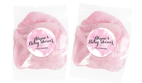 A Splash Of Watercolour Pink Custom Bags Of Fairy Floss