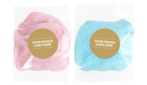 Use Your Own Design Personalised Bags Of Fairy Floss