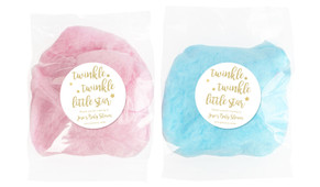Twinkle Twinkle Baby Shower Personalised Bags Of Fairy Floss