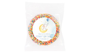 Elephant Moon Baby Shower Giant Chocolate Freckle