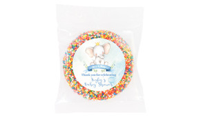 Sitting Elephant Baby Shower Giant Chocolate Freckle