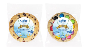 Baby Shark And Family Personalised Birthday Cookie