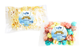 Baby Shark Popcorn Bags With Personalisation
