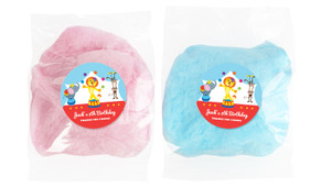 Circus Animals Personalised Bags Of Fairy Floss