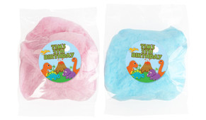 Dinosaur Personalised Bags Of Fairy Floss