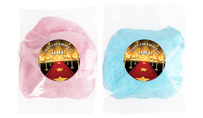 Hollywood Personalised Bags Of Fairy Floss